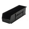 """Black Quantum® Ultra Series Recycled Stack & Hang Bin - 18"""" L x 5-1/2"""" W x 5"""" Hgt."""