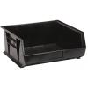 """Black Quantum® Ultra Series Recycled Stack & Hang Bin - 14-3/4"""" L x 16-1/2"""" W x 7"""" Hgt."""