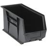 """Black Quantum® Ultra Series Recycled Stack & Hang Bin - 18"""" L x 8-1/4"""" W x 9"""" Hgt."""