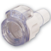 "1/2"" In-line Hose Barb Polycarbonate MPX Coupling Body with Lock (Insert Sold Separately)"