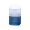 32 oz. HDPE Square Jar with 89/400 Cap