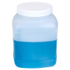 128 oz. HDPE Square Jar with 120/400 Cap
