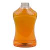 40 oz. (Honey Weight) PET Honeycomb Hourglass Sauce Bottle
