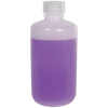 8 oz./250mL Nalgene™ Lab Quality Narrow Mouth HDPE Bottle with 24mm Cap