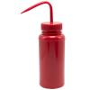 500mL Safety Red Wash Bottle 53mm Cap