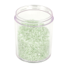 8 oz. Polystyrene Straight Sided Thick Walled Clear Jar with 70/400 Neck (Cap Sold Separately)