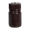 1 oz./30mL Nalgene™ Amber Wide Mouth Economy Bottle with 28mm Cap