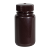 4 oz./125mL Nalgene™ Amber Wide Mouth Economy Bottle with 38mm Cap