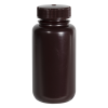 8 oz./250mL Nalgene™ Amber Wide Mouth Economy Bottle with 43mm Cap