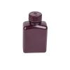8 oz./250mL Nalgene™ Amber Rectangular Bottle with 38mm Cap