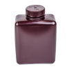 32 oz./1000mL Nalgene™ Amber Rectangular Bottle with 53mm Cap