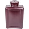 64 oz./2000mL Nalgene™ Amber Rectangular Bottle with 63mm Cap