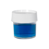 4 oz./125mL Nalgene™ Straight Sided Polymethylpentene Jar with 70mm Cap