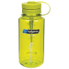 32 oz. Wide Mouth Green Bottle with Green Pillid
