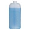 1 Gallon Slant Handle Natural HDPE F-Style Jug with 38/400 Plain Cap