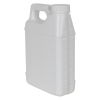 32 oz. White F-Style Jug with Window Strip & 33/400 CRC Cap