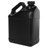 128 oz. Black F-Style Jug with 38/400 CRC Cap