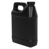 32 oz. Black F-Style Jug with 33/400 Plain Cap