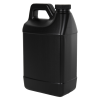 64 oz. Black F-Style Jug with 38/400 Plain Cap