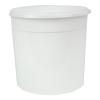 86 oz. White Flex Off Container (Lid Sold Separately)