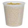 24 oz. Natural Polypropylene Z-Line Freezer Grade Round Container