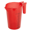 500mL Red Polypropylene Graduated Stackable Pitcher