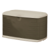 "Rubbermaid® Medium Olive & Sandstone Deck Box - 42"" L x 24"" W x 24"" H"