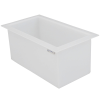 "14 Gallon Polypropylene High Temperature Tamco® Tank - 24"" L x 12"" W x 12"" Hgt."