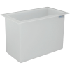 "22 Gallon Polypropylene High Temperature Tamco® Tank - 24"" L x 12"" W x 18"" Hgt."