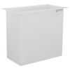 "29 Gallon Polypropylene High Temperature Tamco® Tank - 24"" L x 12"" W x 24"" Hgt."