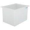 "33 Gallon Polypropylene High Temperature Tamco® Tank - 24"" L x 18"" W x 18"" Hgt."