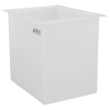 "44 Gallon Polypropylene High Temperature Tamco® Tank - 24"" L x 18"" W x 24"" Hgt."