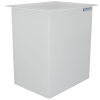 "56 Gallon Polypropylene High Temperature Tamco® Tank - 24"" L x 18"" W x 30"" Hgt."