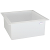 "29 Gallon Polypropylene High Temperature Tamco® Tank - 24"" L x 24"" W  x 12"" Hgt."
