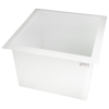 "44 Gallon Polypropylene High Temperature Tamco® Tank - 24"" L x 24"" W x 18"" Hgt."