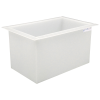"42 Gallon Polypropylene High Temperature Tamco® Tank - 30"" L x 18"" W x 18"" Hgt."