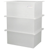 "67 Gallon Polypropylene High Temperature Tamco® Tank - 24"" L x 18"" W x 36"" Hgt."