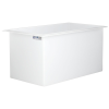 "62 Gallon Polypropylene High Temperature Tamco® Tank - 36"" L x 20"" W x 20"" Hgt."