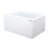 "67 Gallon Polypropylene High Temperature Tamco® Tank - 36"" L x 24"" W x 18"" Hgt."