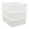 "93 Gallon Polypropylene High Temperature Tamco® Tank - 30"" L x 24"" W x 30"" Hgt."