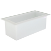 "18 Gallon Polypropylene High Temperature Tamco® Tank - 30"" L x 12"" W x 12"" Hgt."