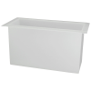 "28 Gallon Polypropylene High Temperature Tamco® Tank - 30"" L x 12"" W x 18"" Hgt."