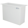 "37 Gallon Polypropylene High Temperature Tamco® Tank - 30"" L x 12"" W x 24"" Hgt."