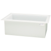 "28 Gallon Polypropylene High Temperature Tamco® Tank - 30"" L x 18"" W x 12"" Hgt."