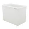 "56 Gallon Polypropylene High Temperature Tamco® Tank - 30"" L x 18"" W x 24"" Hgt."