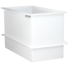 "67 Gallon Polypropylene High Temperature Tamco® Tank -  36"" L x 18"" W x 24"" Hgt."