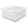"84 Gallon Polypropylene High Temperature Tamco® Tank - 36"" L x 30"" W x 18"" Hgt."