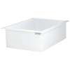 "44 Gallon Polypropylene High Temperature Tamco® Tank - 36"" L x 24"" W x 12"" Hgt."