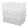 "134 Gallon Polypropylene High Temperature Tamco® Tank - 36"" L x 24"" W x 36"" Hgt."