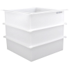 "116 Gallon Polypropylene High Temperature Tamco® Tank - 30"" L x 30"" W x 30"" Hgt."